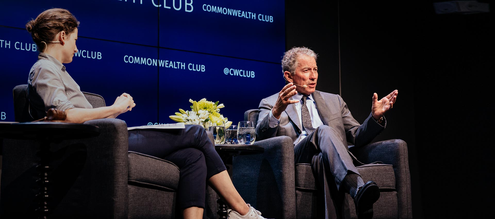 Tom Siebel at the Common Wealth Club